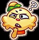 Jenny emoji curious