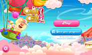 Candy Crush Jelly Saga Main menu (landscape)