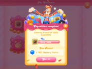 My Collection Cupcake Crasher badge 2 expedition 3 complete