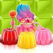 Jelly Queen in her element
