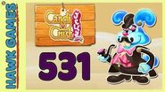 Candy Crush Jelly Saga Level 531 (Monkling Boss mode) - 3 Stars Walkthrough, No Boosters