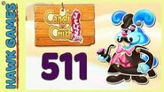 Candy Crush Jelly Saga Level 511 (Monkling Boss mode) - 3 Stars Walkthrough, No Boosters