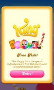 Free Gift Candy fish Unlimited lives Happy Hour 2