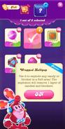 Royal Championship Wrapped Lollipop info