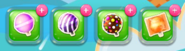 A row of lollipops (mobile)