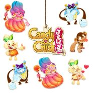 Candy Crush Jelly Saga Stickers cover
