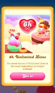 Free Gift Unlimited lives Happy Hour 3