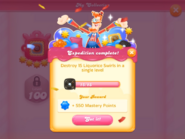 My Collection Swirl Scientist badge 1 expedition 2 complete