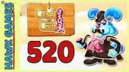 Candy Crush Jelly Saga Level 520 Hard (Monkling Boss mode) - 3 Stars Walkthrough, No Boosters