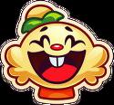 Jenny emoji laugh