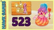 Candy Crush Jelly Saga Level 523 (Jelly Boss mode) - 3 Stars Walkthrough, No Boosters