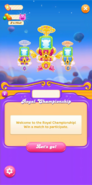 Royal Championship welcome message 2