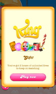 Free Gift Unlimited life King's Gift