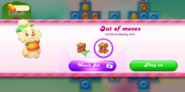 Watch ad Normal level 4 Free move 2
