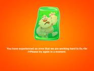 Error screen 1