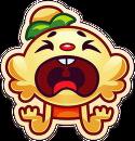 Jenny emoji cry