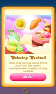 Free Gift Coloring candy Fish Happy Hour 4