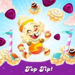 Cupcake Marathon Top Tip special purple candies.jpg