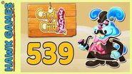 Candy Crush Jelly Saga Level 539 (Monkling Boss mode) - 3 Stars Walkthrough, No Boosters