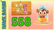 Candy Crush Jelly Saga Level 558 (Monkling mode) - 3 Stars Walkthrough, No Boosters