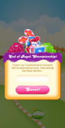 Royal Championship end event popup
