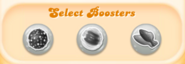 Select boosters (locked) table