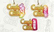 Candy Crush Jelly Logo Development