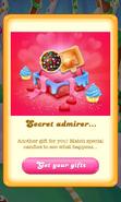 Free Gift Secret admirer Color bomb Wrapped lollipop hammer Valentine 2018