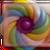 Rainbow Twist 5 in Marmalade