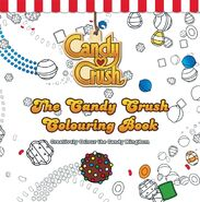 The Candy Crush Colouring Book
