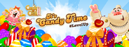 It's candy time facebook background 2017