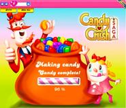 Candy Crush Saga Game Loading Beta