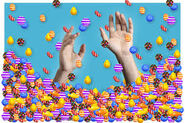 Candy rains drown