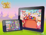 Candy Crush Saga mobile trailer bg