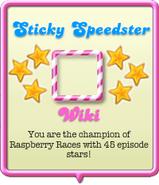 Sticky Speedster