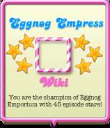Eggnog Empress