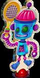 Alien Robot character after