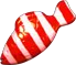 Jelly Fish Red (Striped)