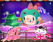 Candy Kaiju background
