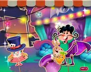 Easter Bunny in Charming Carnival