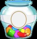 Sugar drop jar