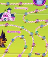 Chocolate Barn Map Mobile