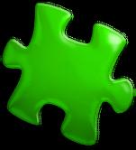 Greencandy puzzlepiece