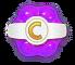 Purple Candy Sugar Drop