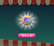 Bubblegum Bazaar completed turn 1 reward