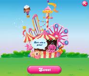 Bubblegum Bazaar completed main screen