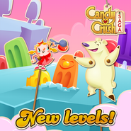 New levels released 167