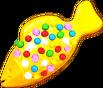 Yellow Colour Bomb Fish