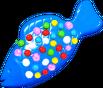Blue Colour Bomb Fish