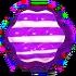 Striped purple h